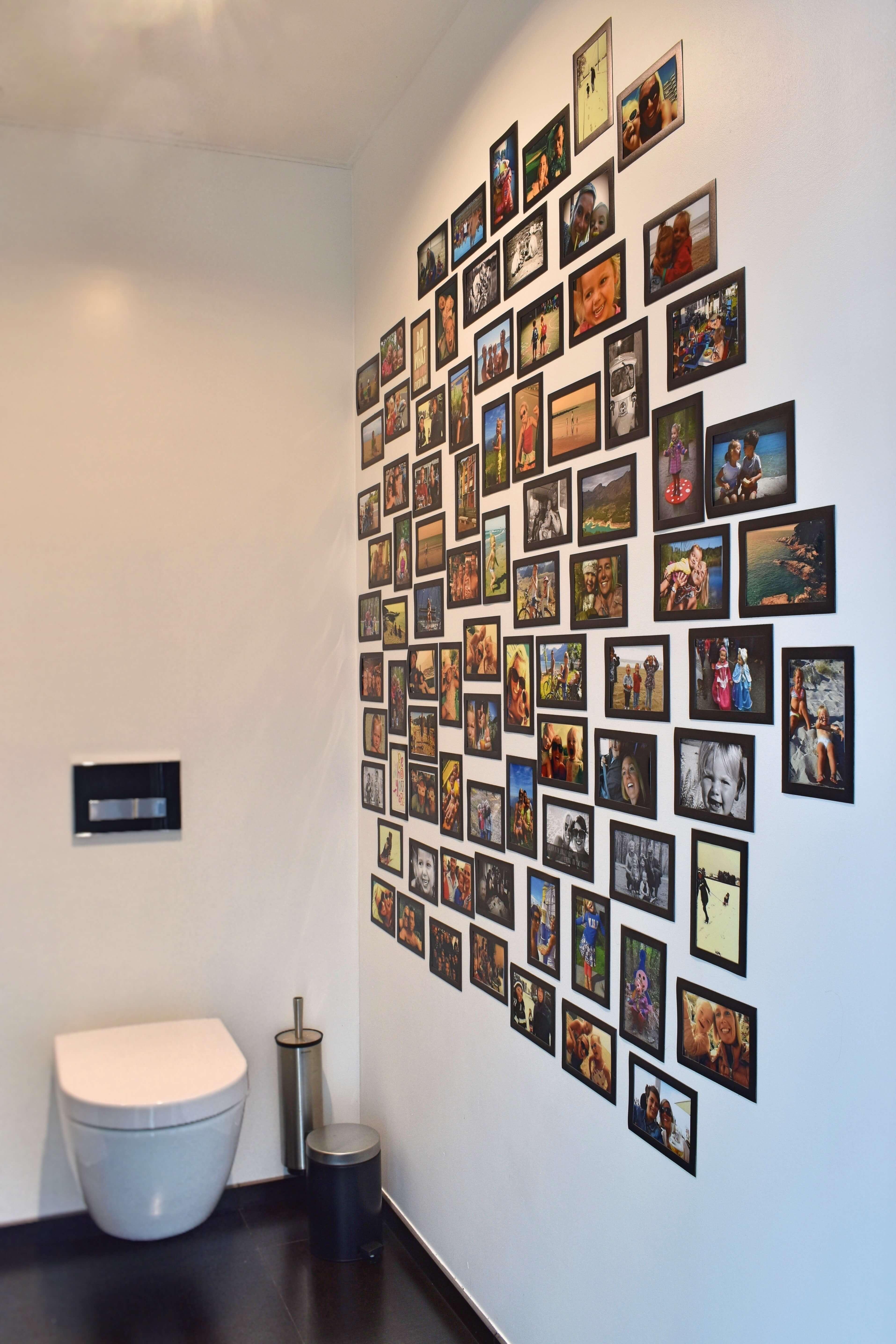 fotomuur toilet